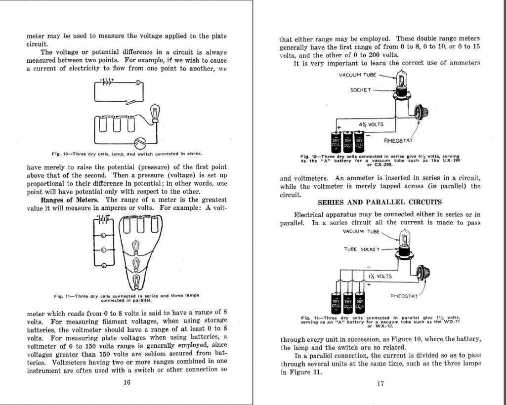 Product Details Renovated Radiosnri Radio Course 1929 1930 Cds Example Of Series Circuit Nri