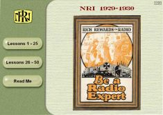 NRI Radio Course (1929-1930): click to enlarge