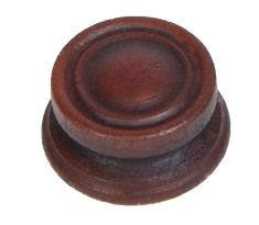 Generic Wood Knob for 1930's Radios (plastic): click to enlarge