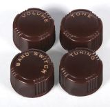 Generic Knobs with Inscribed Labels